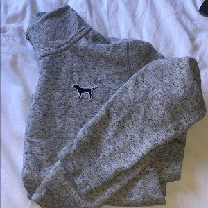 Pink Victoria secrets grey sweater